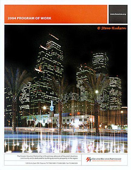 Cover photo - 2004 Program of Work