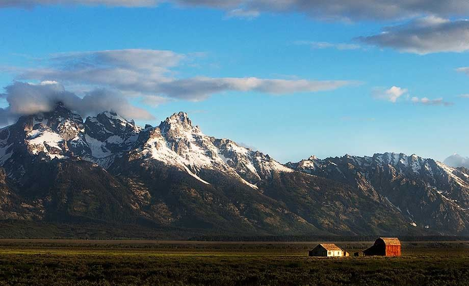 Grand Teton Farmhouse
