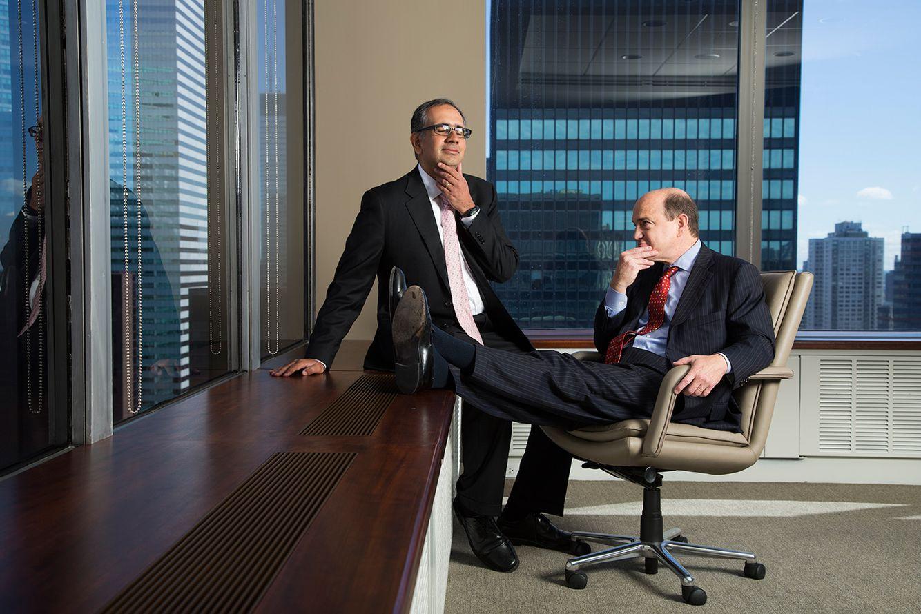 Sarat Sethi and Ned Dewees - Managing Directors at Douglas C. Lane