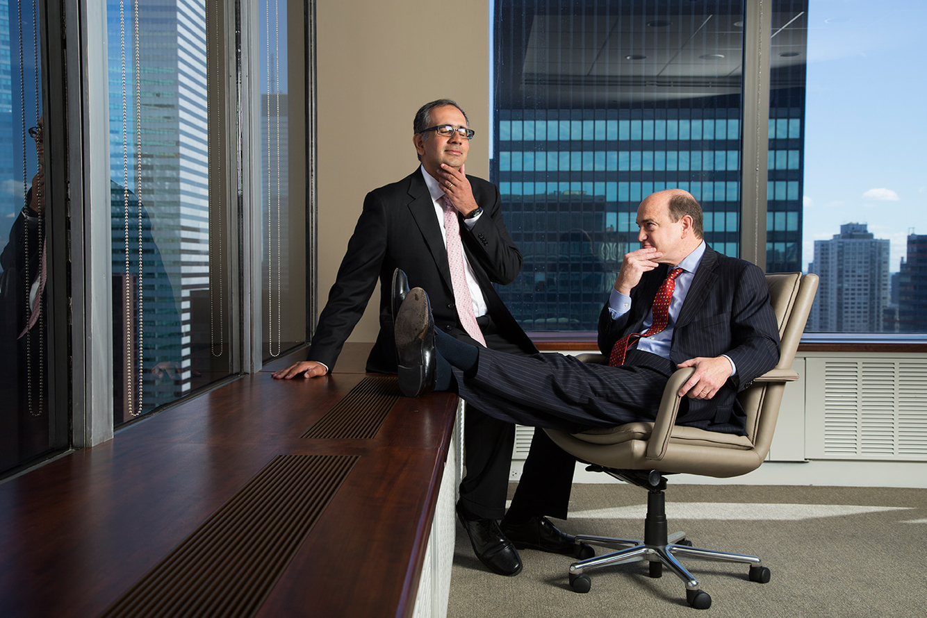 Sarat Sethi and Ned Dewees - Managing Directors at Douglas C. Lane