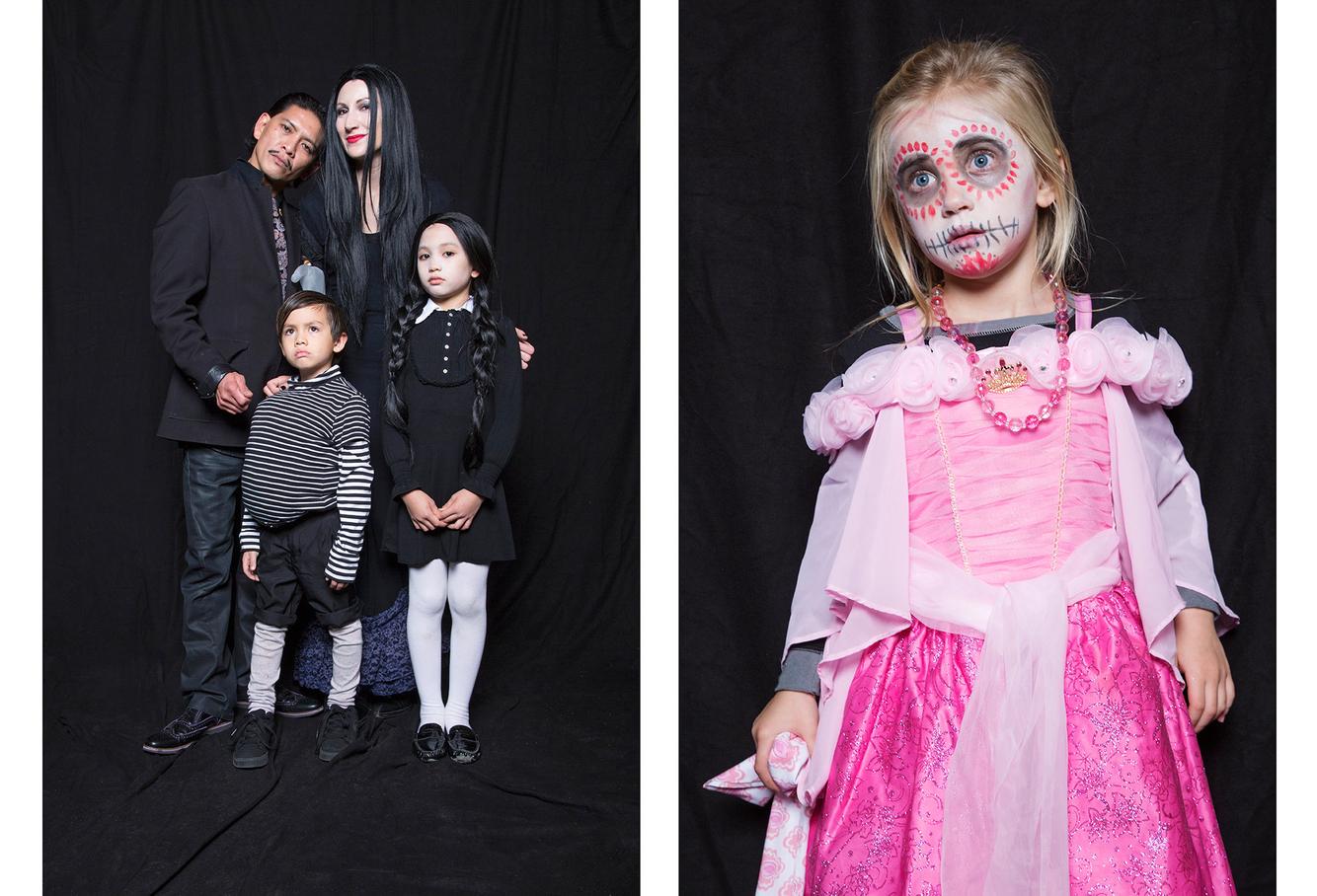 Halloween Photo Project - Hoboken, NJ.