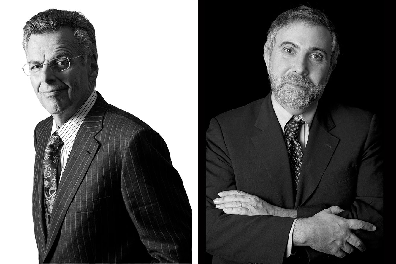 Myron Scholes - Economist &  Paul Krugman - Economist