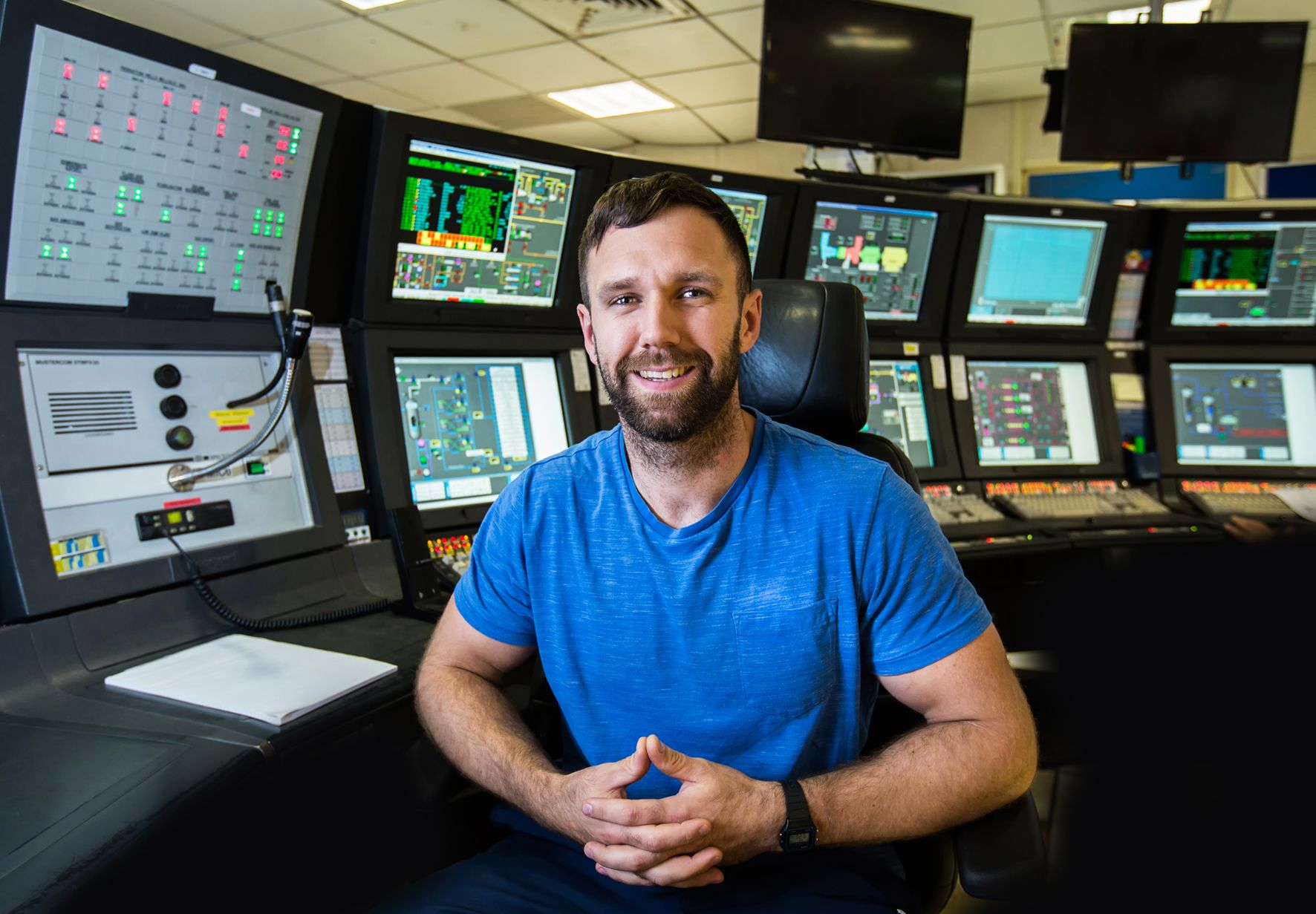 offshore control room operator