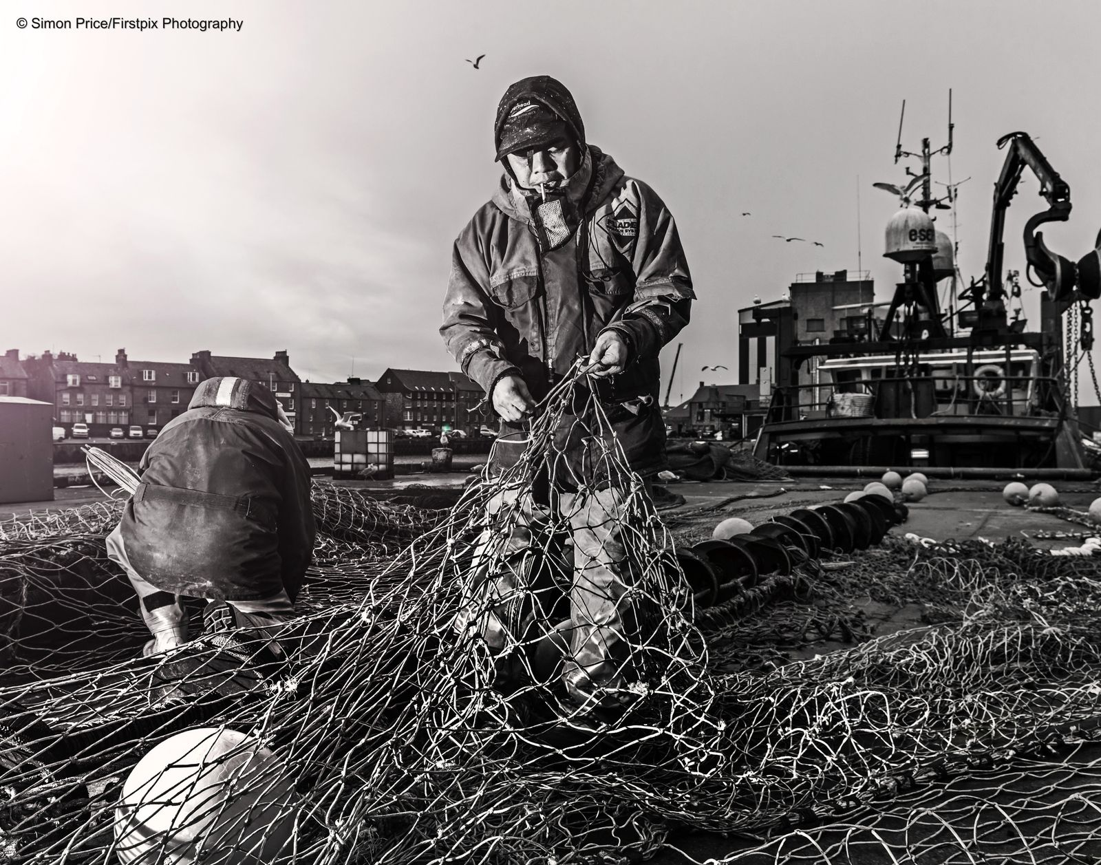 Nets fish fishing north sea