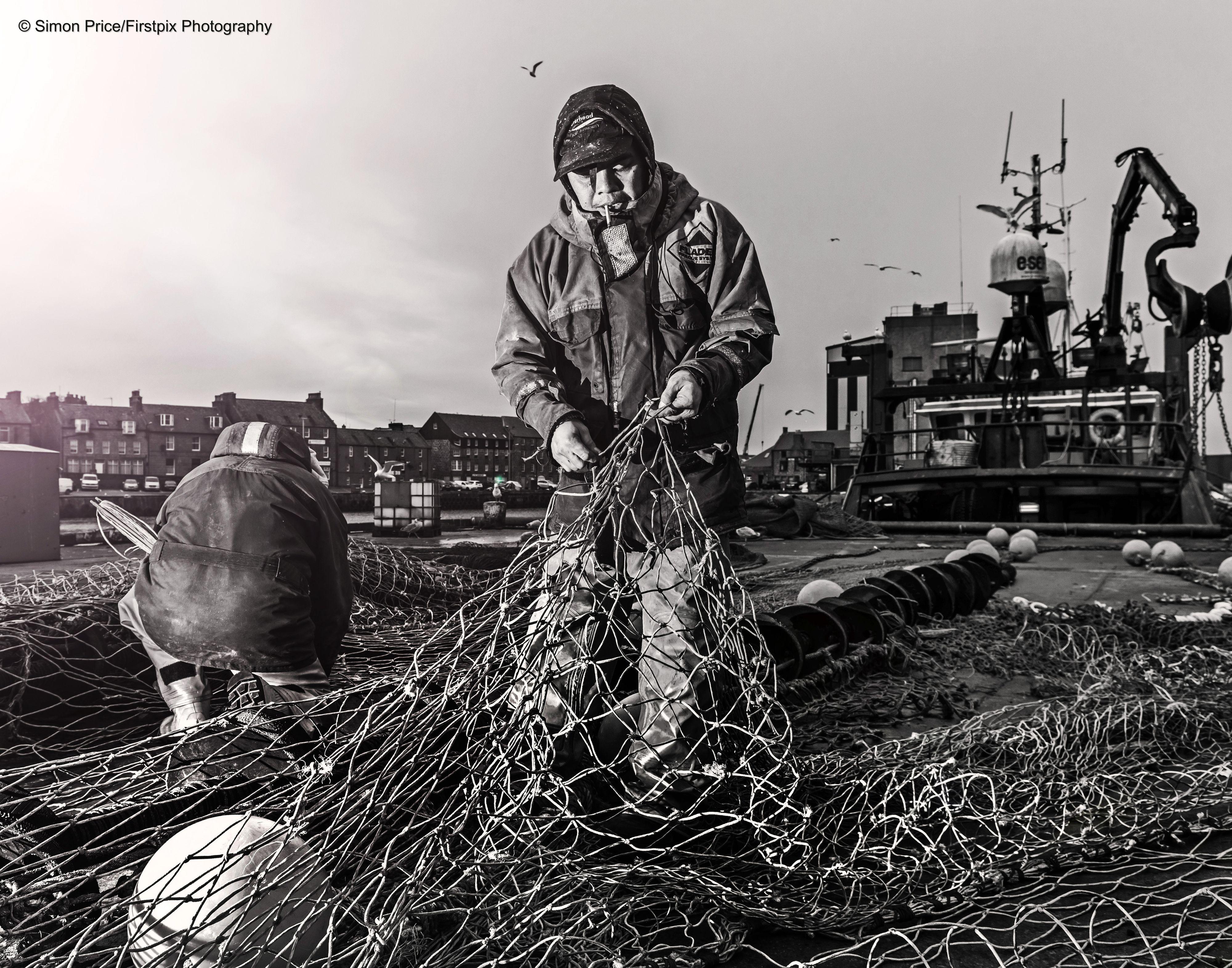 Nets fish fishing north sea