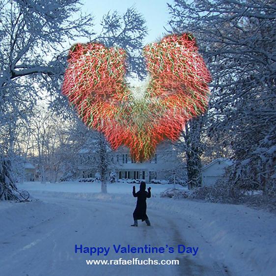 Happy Valentine cards 2006-7