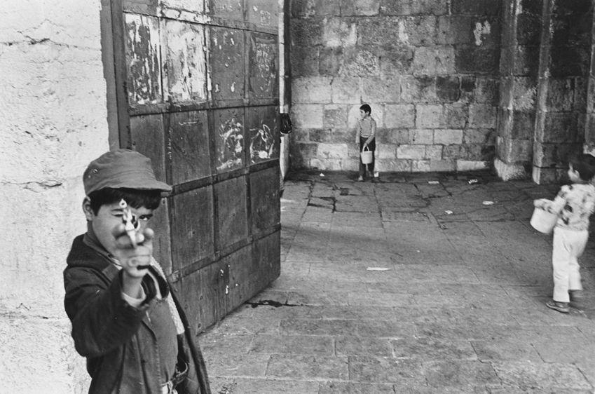 Palestinian kids at play