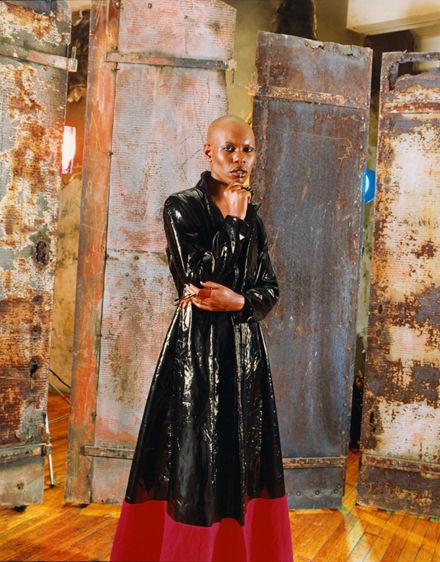 Skin, the lead singer of Skunk Anansie