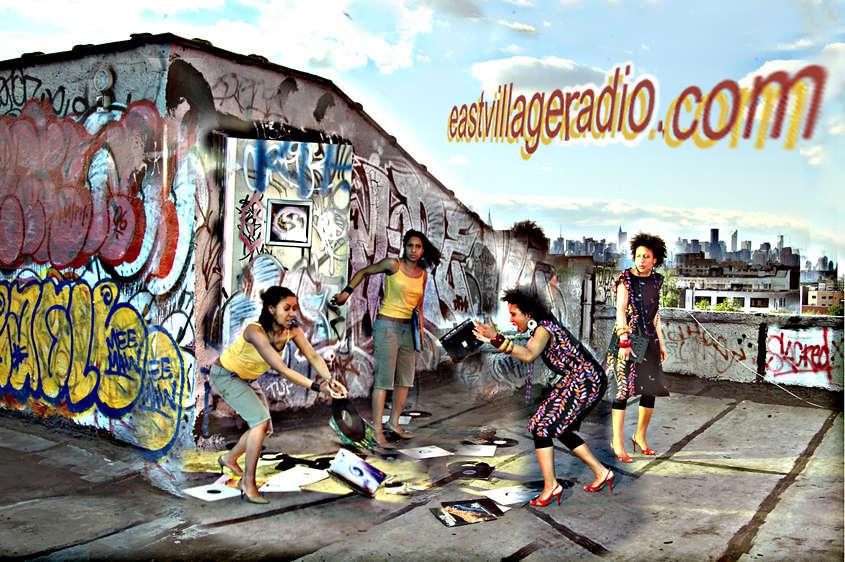 Promo for East Village Radio, 2006