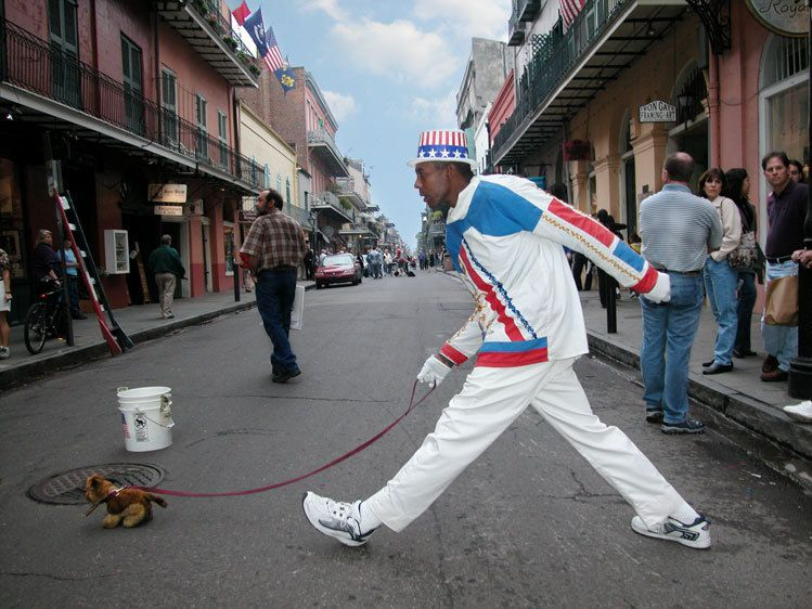 Mime in New Orleans