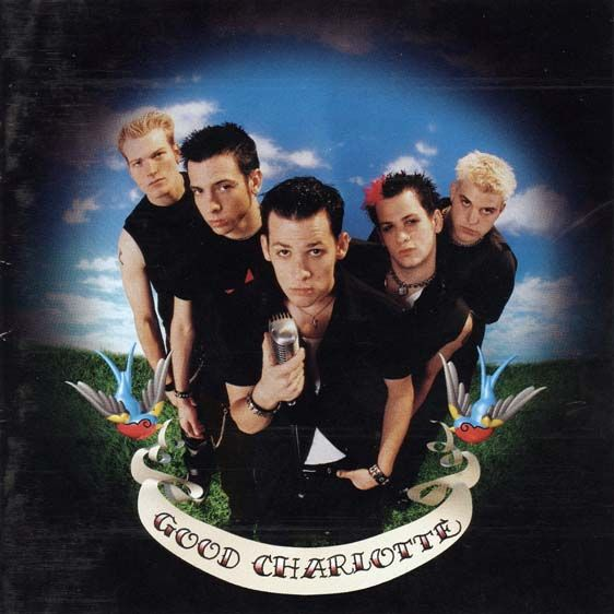 Good Charlotte first album cover