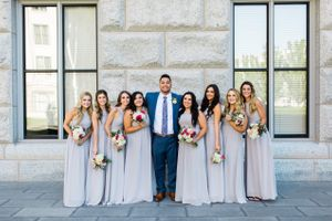 Tessa_Taani_Utah_State_Capitol_Salt_Lake_City_Utah_Groom_Posing_With_Bridesmaids.jpg