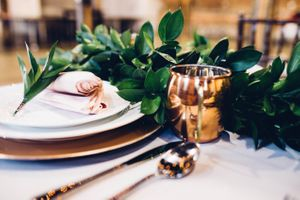 Modern_Industrial_Wedding_Shoot_The_Historic_Startup_Building_Provo_Utah_Elegant_Table_Copper_Tumbler.jpg