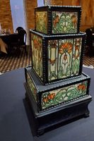 Exotic Stained Glass Cake