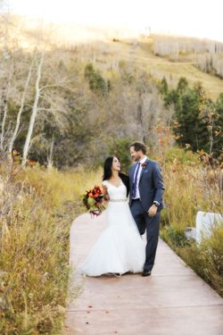 Felicia_Jared_Park_City_Mountain_Resort_Park_City_Utah_Bride_Groom_Walking_Mountain.jpg