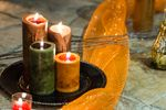 April_Matt_Park_City_Legacy_Lodge_Park_City_Utah_Lighted_Autumn_Candle_Centerpiece.jpg