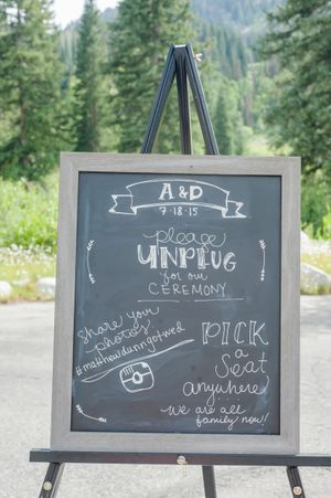 Ashley_Dan_Solitude_Resort_Solitude_Utah_Ceremony_Welcome_Unplugged_Sign.jpg