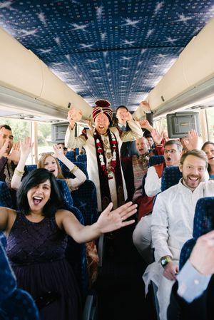 Reema_Spencer_Temple_Har_Shalom_Park_City_Utah_Baraat_Groom_Guests_Bus.jpg