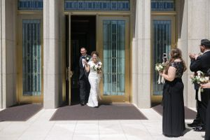Chloe_Austin_Ben_Lomond_Suites_Ogden_Utah_Great_Gatsby_Bride_Groom_Leaving_Temple.jpg