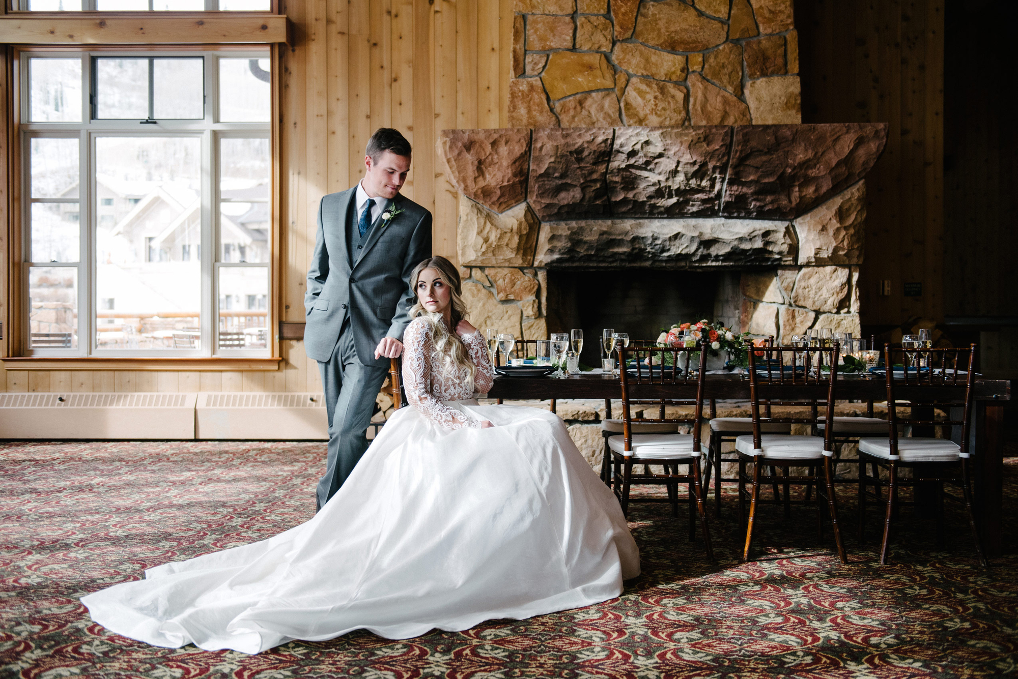 Rocky_Mountain_Bride_Winter_Elopement_Deer_Valley_Empire_Lodge_Bride_Groom_Seated_Table.jpg