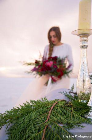 Salt_Air_Wedding_Shoot_Saltair_Resort_Salt_Lake_City_Utah_Bride_With_Bright_Floral_Bouquet.jpg