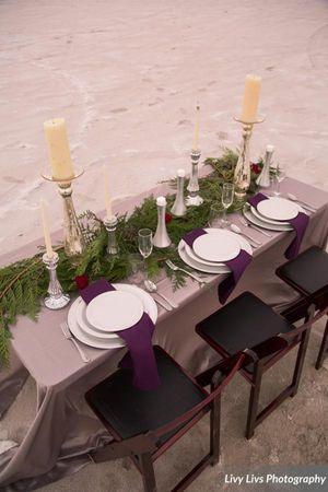 Salt_Air_Wedding_Shoot_Saltair_Resort_Salt_Lake_City_Utah_Elegant_Table_Setting_Aerial_View.jpg