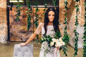 Modern_Industrial_Wedding_Shoot_The_Historic_Startup_Building_Provo_Utah_Bride_Greenery Backdrop.jpg
