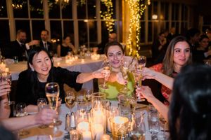 Julia_Mark_Silver_Lake_Lodge_Deer_Valley_Resort_Park_City_Utah_Guests_Toasting_Bride_Groom.jpg