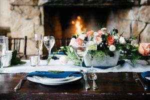 Rocky_Mountain_Bride_Winter_Elopement_Deer_Valley_Empire_Lodge_Crackling_Fire_Coral_Floral_Centerpiece.jpg