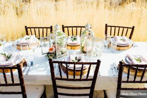 Charming_Barn_Wedding_Quiet_Meadow_Farms_Mapleton_Utah_Stylish_Table_Wood_Chargers.jpg