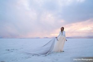 Salt_Air_Wedding_Shoot_Saltair_Resort_Salt_Lake_City_Utah_Brides_Dress_Blowing_in_Wind.jpg