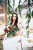 Romantic_Winter_Shoot_Seated_Bride_Evergreen_Backdrop.jpg