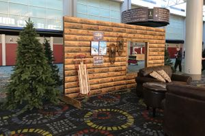 Higher_Education_User_Group_2018_Salt_Palace_Convention_Center_Salt_Lake_City_Utah_Cozy_Log_Cabin_Relaxation_Area.jpg