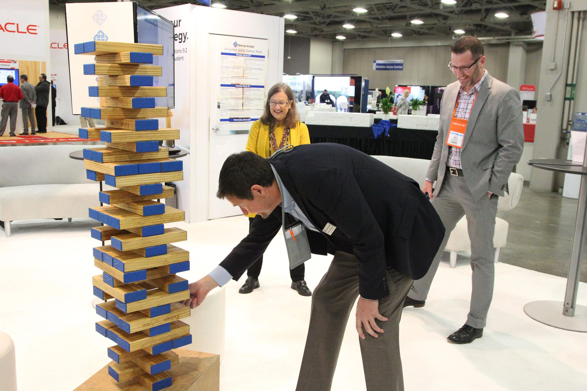 Higher_Education_User_Group_2018_Salt_Palace_Convention_Center_Salt_Lake_City_Utah_Exhibitor_Area_Giant_Jenga!.jpg