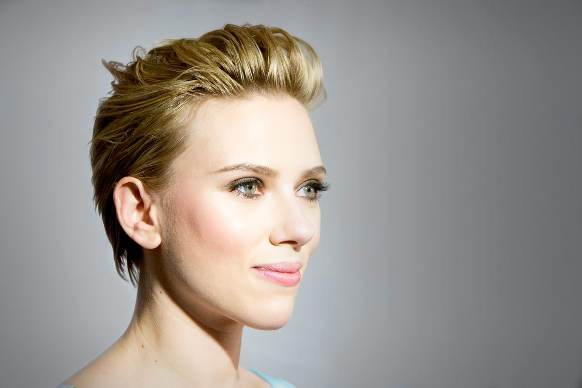 Scarlette Johansson Portrait