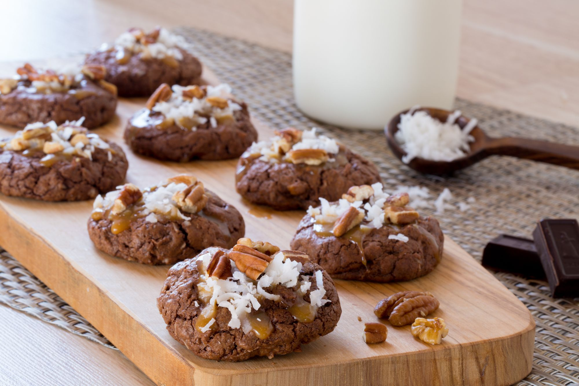 Baker's Chocolate Cookies