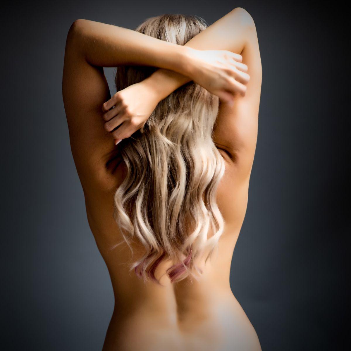 Fine art female model