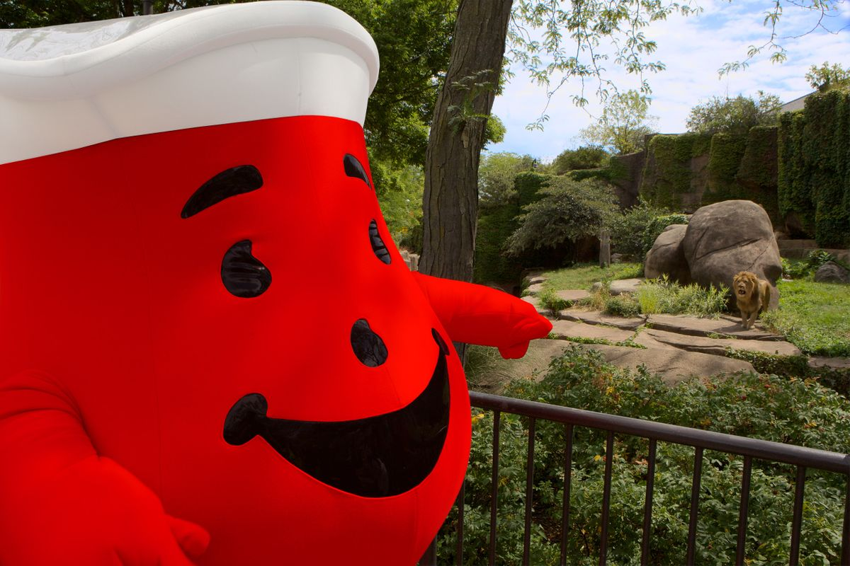 Kool-Aid man tours Lincoln Park Zoo