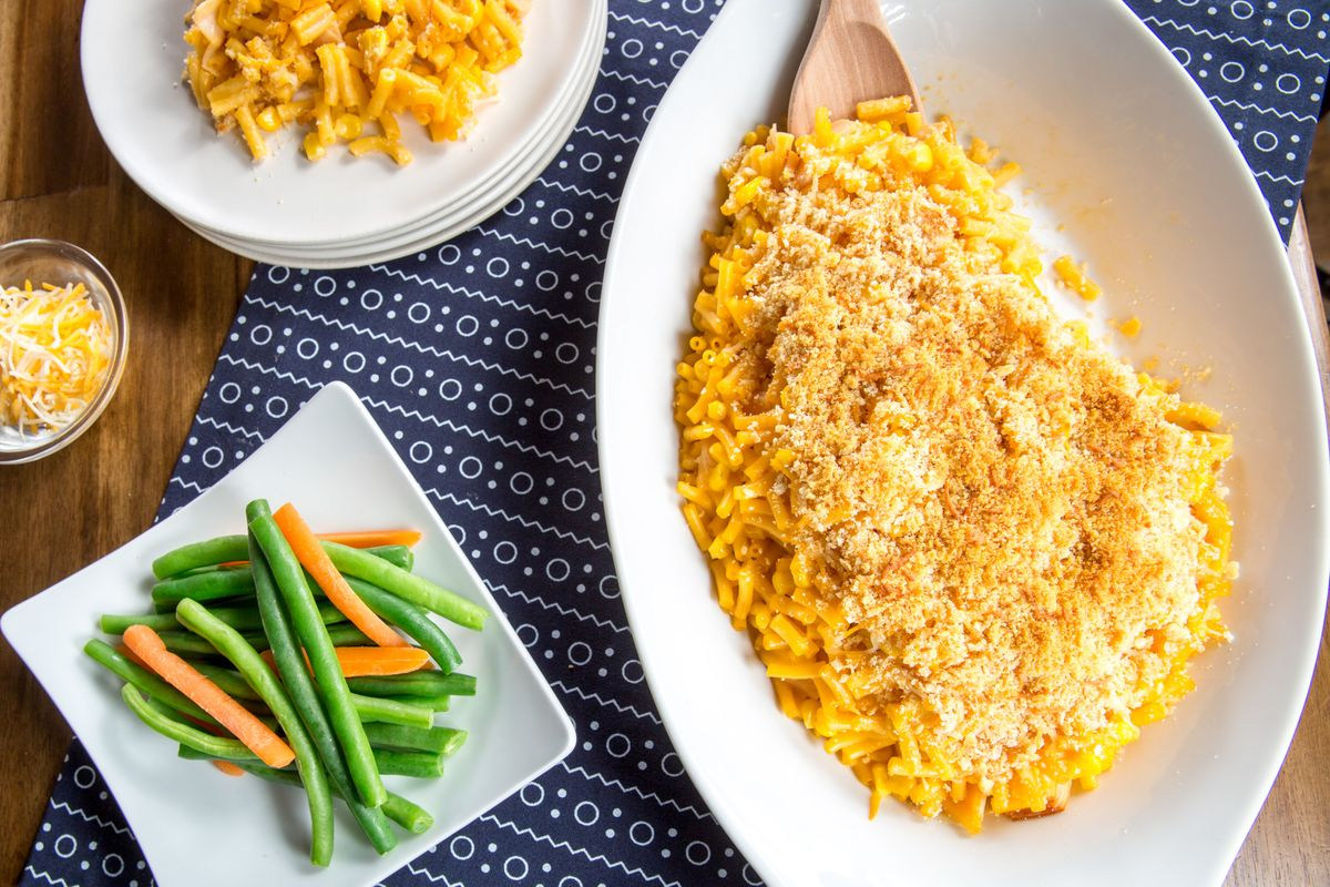 Blue Box Macaroni and Cheese Recipe